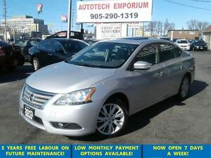 2013 Nissan Sentra Auto Navigation/Leather/Sunroof/Bluetooth
