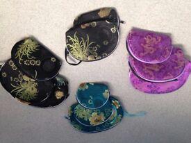 Chinese brocade bag sets, new
