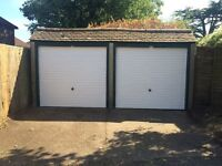 Garage available for storage of goods or vehicle