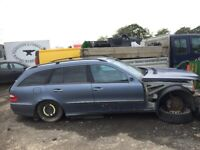 Mercedes w211 e class e 270 e 220 breaking parts available for sale  Motherwell, North Lanarkshire