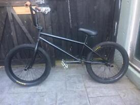 Bmx bike black