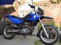 MZ Mastiff 2002 660cc Yamaha engine Supermoto supermotard