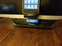 Philips DC910 -Docking entertainment system -FM Radio Tuner WIth USB SD