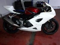 Suzuki GSXR 1000 K5 K6 fibre glass race fairings