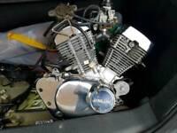 250cc v twin motorbike engine