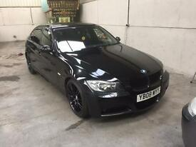 08 Reg BMW 330d m sport automatic pristine condition very rare full leather