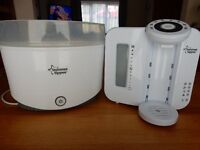 Tommee Tippee perfect prep machine & Closer to Nature Electric Steriliser