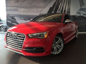 2015 Audi S3 PROGRESSIV CONVENIENCE PACK RED CALIPERS