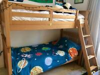 Beautiful solid oak bunk bed by ASPACE
