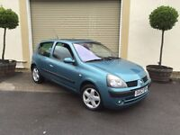 Renault Clio 1.2 With 12 Months Mot !!