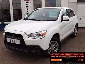 2012 61 MITSUBISHI ASX 1.6 2~1 FORMER KEEPER WITH FSH! AT MAIN AGENT~