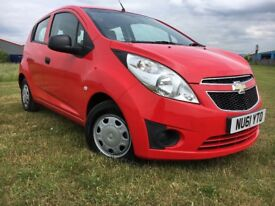 2012 CHEVROLET SPARK PLUS 1.0 PETROL 12 MONTHS MOT ONLY 48,000 MILES. FULL SERVICE HISTORY
