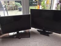 2 lg tv's working £100 both