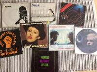 8 Vinyl Single Records-Punk/ New Wave- Buzzcocks, Yazoo, Sham 69, Tubeway Army, TRB...