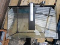 Small Fish Tank With Built In Filter System and a Light