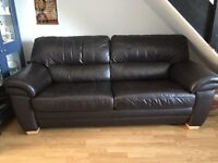 Large 2 seater Leather sofa £100 ono