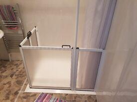Disabled shower enclosure