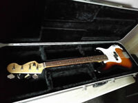 Squier by Fender P-Bass Electric Guitar Precision Bass