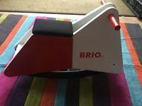 Brio wooden rocker