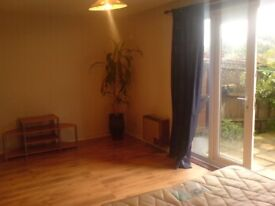 Large garden room in friendly shared house