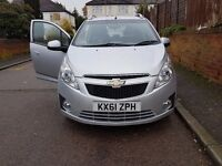 CHEVROLET SPARK LS PLUS -1.2 -2011-TAX-30 POUNDS/YEAR-1 OWNER-LONG MOT