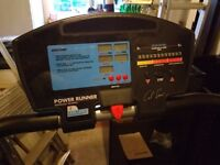 Carl Lewis running machine