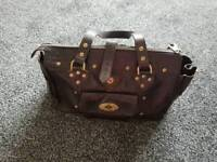 Genuine mulberry studed bag