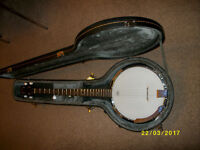 5-String Banjo Complete with Fitted Hard Case