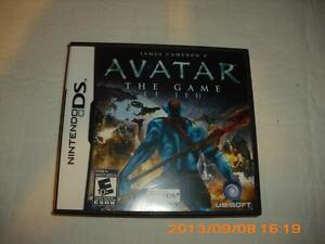 "JAMES CAMERON ""AVATAR"" DS GAME FOR NINTENDO DS"