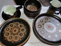 Vintage Denby Arabesque Pottery