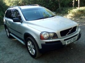 VOLVO XC90 D5 AUTO ESTATE 7 SEATER OVER £14.000 IN RECEIPTS