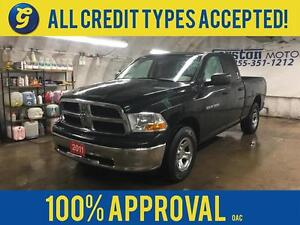 2011 Ram 1500 UAD CAB*4WD*POWER HEATED MIRRORS*PLASTIC BED LINER