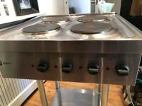 Cooker - Parry 1871 Electric Hob 7kw - Kitchen Catering Equipment 6 mths old