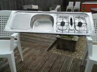 trailer tent sink hob grill unit ideal camper conversion