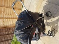 Travel system with infant car seat -excellent condition