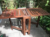 Ikea Applaro outdoor wooden folding table - Immaculate Condition!