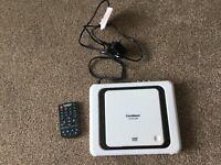 Goodmans portable DVD player