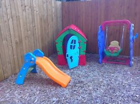 Kids outdoor items excellent condition hardly used due to granddaughter growing out of them so sell