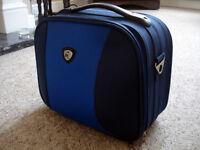 Blue Flight/ Vanity Bag