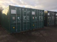 Storage container available to rent on secure site near Uckfield