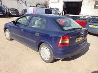 2003 1.7 Vauxhall Astra Long Tax & Test Bargain £425!!!