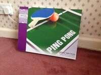 Tabletop Table Tennis/Ping Pong Set