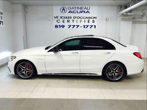 2016 Mercedes-Benz C-Class C63s AMG PKG 1 OWNER CLEAN CARPROOF
