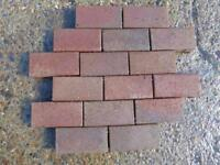 Clay block paving