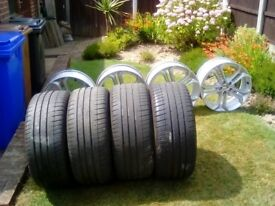 For Sale: Ford Focus ST Rims + Tyres .