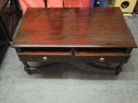 Brand new HSH Suffolk 2 drawer coffee table rrp £340 US £175