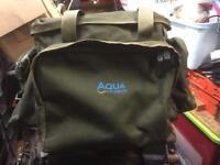 Aqua endura range, small carryall and large rucksack.