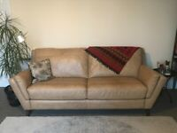 Leather sofa, 3 seater