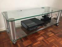 John Lewis TV glass stand