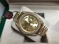 Men's Rolex DayDate Swiss ETA